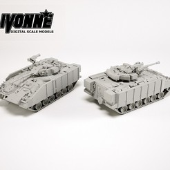 3D print model FV510 Warrior IFV, guaro3d