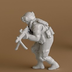 STL file Soldier 7, guaro3d