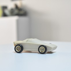 DSC_0247.JPG Download STL file Sporter WOOD TOY CAR. EASY TO PRINT • Template to 3D print, guaro3d