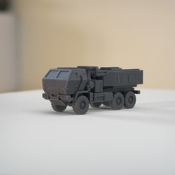 resin Models scene 2.399.jpg Download STL file M142 HIMARS 1:64 Scale Model • 3D printer design, guaro3d