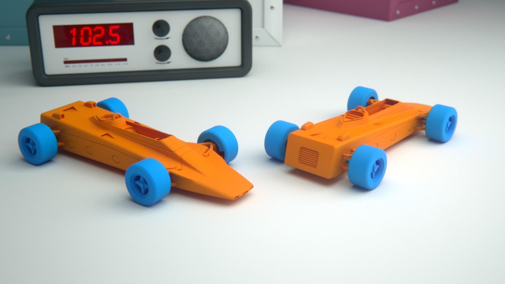 3.jpg Download free STL file Lotus 56B Turbine Formula 1 • 3D print model, guaro3d