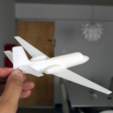 Free 3D print files Easy to print Cessna Citation SII 1/64 aircraft scale model, guaro3d