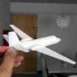 Capture d'écran 2017-04-25 à 19.12.42.png Download free STL file Easy to print Cessna Citation SII 1/64 aircraft scale model • 3D print template, guaro3d