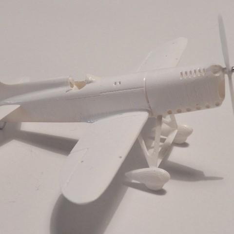000_0003-01 (Medium).jpg Download STL file Howard Mike Golden Age Air Racer • 3D print template, guaro3d