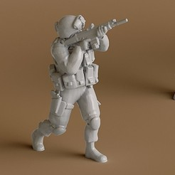 3D print files Soldier 4, guaro3d
