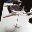 diseños 3d gratis Fácil de imprimir F5 Tiger modelo de aeronave escala 1/64, guaro3d