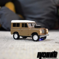 Descargar archivo STL Land Rover Type 88 1:43 Modelo de radio control a escala • Diseño para impresión en 3D, guaro3d