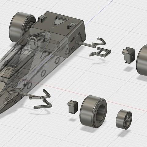inst.jpg Download free STL file Lotus 56B Turbine Formula 1 • 3D print model, guaro3d