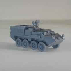 resin Models scene 1.227.jpg Download STL file Stryker M1133 MEV 1:64 Scale Model • 3D printable model, guaro3d
