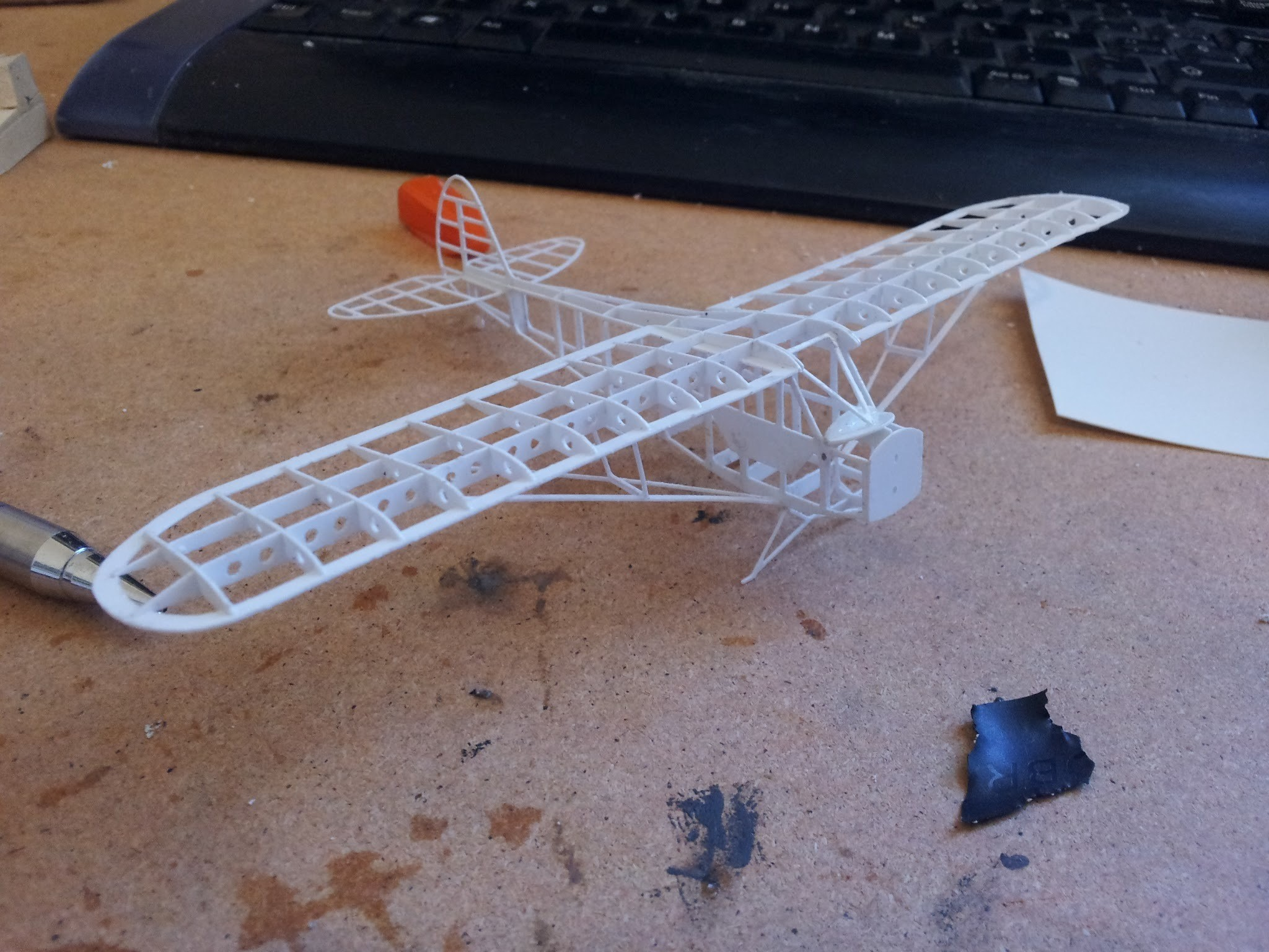 IMG_20120902_170205.jpg Download free OBJ file Piper Cub frame model (esc: 1/64) (No 3D print, CNC routing) • 3D print model, guaro3d