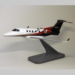 7 cover.jpg Download STL file Embraer Phenom 300 Private Jet • Template to 3D print, guaro3d