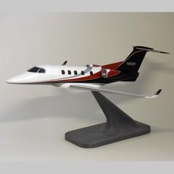 Descargar archivo STL Jet privado Embraer Phenom 300 • Modelo para la impresión en 3D, guaro3d