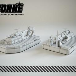 Descargar diseños 3D Vehículo de colchón de aire para patrullas (Aerodeslizador PACV), guaro3d