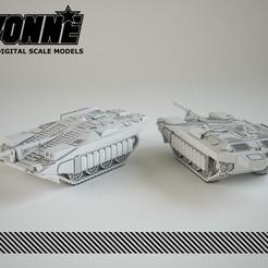 Descargar archivo STL Stridsvagn 103 S-Tank • Diseño para imprimir en 3D, guaro3d
