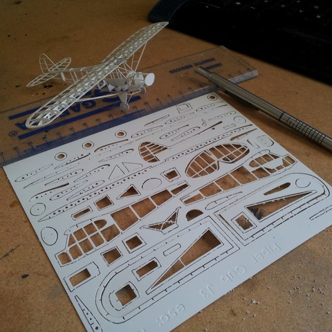 IMG_20120902_130516.jpg Download free OBJ file Piper Cub frame model (esc: 1/64) (No 3D print, CNC routing) • 3D print model, guaro3d