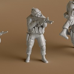 3D printer models Soldier 5, guaro3d