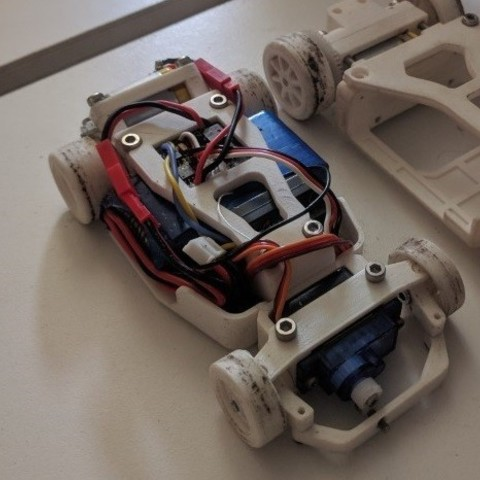 Free OpenZ v4a Chassis (1:28 RC) 3D printer file, guaro3d