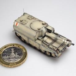Descargar modelos 3D para imprimir FV3805 Centurión SPG, guaro3d