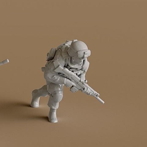 3D print files Soldier 13, guaro3d