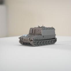 resin Models scene 2.506.jpg Download STL file M108 Artillery Command post • 3D print object, guaro3d