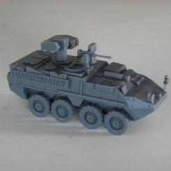 resin Models scene 1.214.jpg Download STL file Stryker ATGM M1134 1:64 Scale Model • Design to 3D print, guaro3d