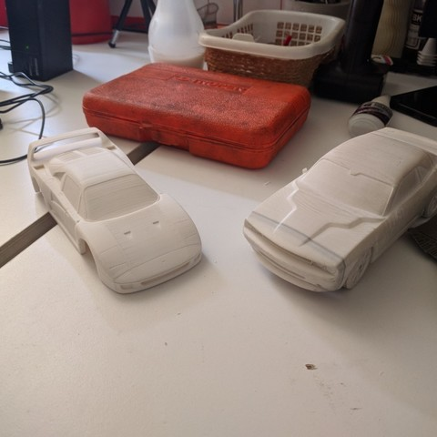 IMG_20180424_131641 (Medium).jpg Download STL file Ferrari F40 1:28 Scale model OpenZ compatible (Chassis v4a) • 3D print design, guaro3d