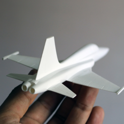Fichier impression 3D gratuit Easy to print F5 Tiger aircraft scale model 1/64, guaro3d