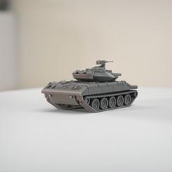 resin Models scene 2.518.jpg Télécharger fichier STL M551 Sheridan • Design imprimable en 3D, guaro3d
