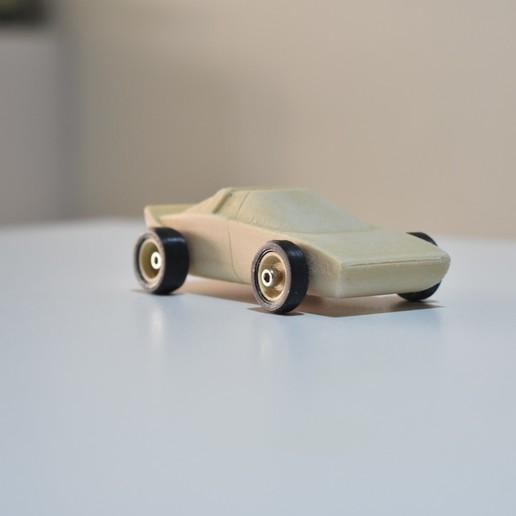 DSC_0233.JPG Télécharger fichier STL Voiture de sport en bois. FACILE À IMPRIMER • Plan pour imprimante 3D, guaro3d
