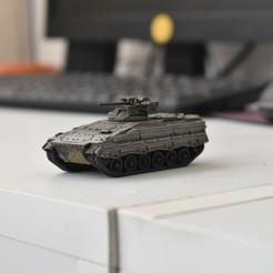Descargar archivo STL Vehículo militar Marder 1A3 (IFV) • Objeto imprimible en 3D, guaro3d
