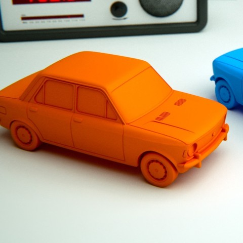 Download 3D model Fiat 128 Scale Model, guaro3d