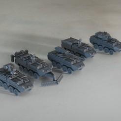 resin Models scene 1.228.jpg Download STL file IAV Stryker Family 1:64 Scale Model • 3D printable design, guaro3d