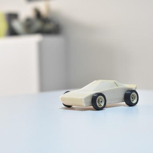 DSC_0248.JPG Télécharger fichier STL Voiture de sport en bois. FACILE À IMPRIMER • Plan pour imprimante 3D, guaro3d