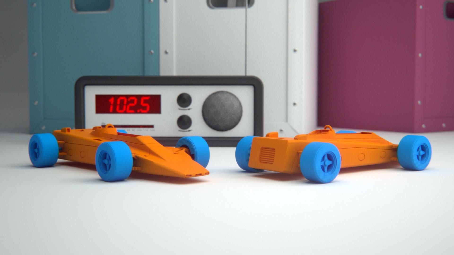 4.jpg Download free STL file Lotus 56B Turbine Formula 1 • 3D print model, guaro3d