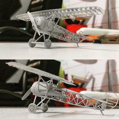 IMG_20180215_212458_179.jpg Download STL file Fokker D.VIII Strip down scale model • 3D printable design, guaro3d