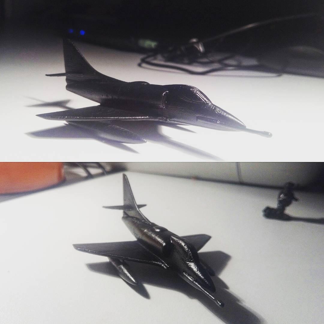 A4 Skyhawk scale model