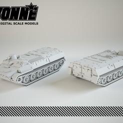 Descargar modelos 3D para imprimir Vehículo militar multiuso soviético MT-LB, guaro3d