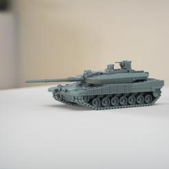 resin Models scene 2.474.jpg Download STL file Altay Turkish MBT • Model to 3D print, guaro3d