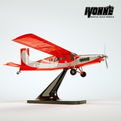 Descargar archivo STL Pilatus Porter PC-06 • Diseño para impresión en 3D, guaro3d