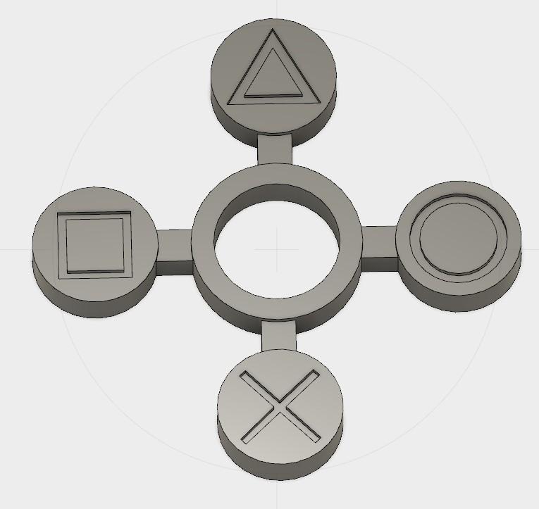 Sans titre-1.jpg Download free STL file Playstation Handspinner v2 • Template to 3D print, Erikum