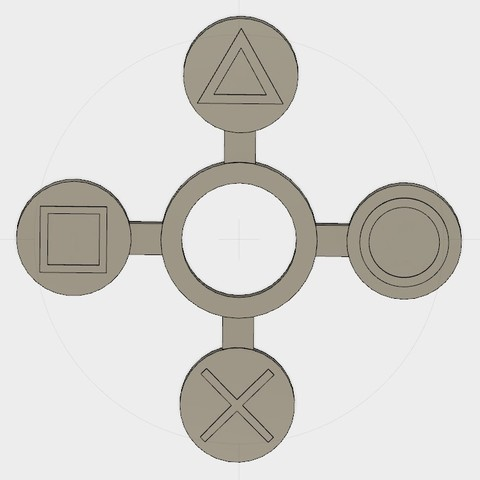 Download free 3D printer model Playstation Handspinner, Erikum