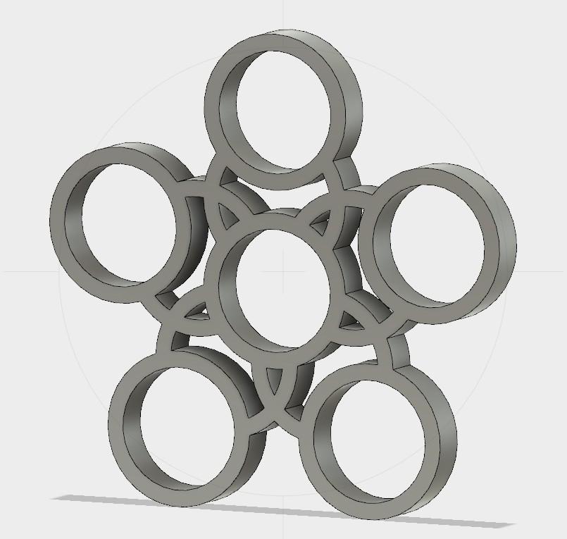 Sans titre-1.jpg Download free STL file Handspinner 5 bearing • 3D printer template, Erikum