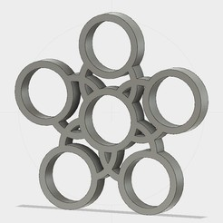Download free STL files Handspinner 5 bearing, Erikum