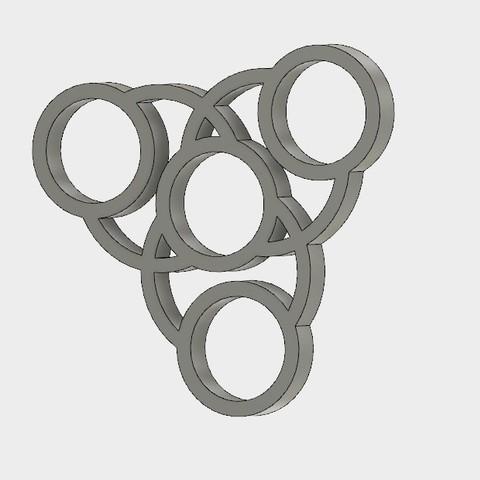 Free 3d printer model Handspinner , Erikum