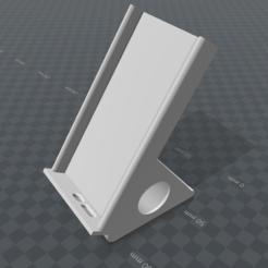diseños 3d gratis soporte del teléfono para el iPhone 5 / 5s / es, valsant
