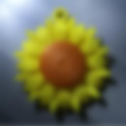 Free Sunflower STL file, koukwst