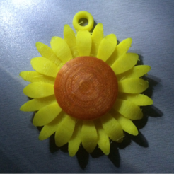 Download free STL file Sunflower • 3D print design, koukwst