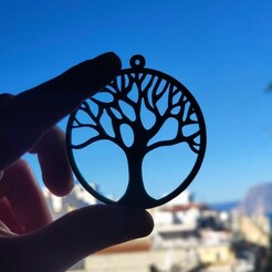 1610618911242.jpg Download free STL file Tree Earrings • Object to 3D print, koukwst