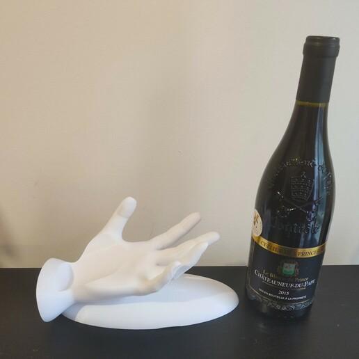 IMG_20210112_103234.jpg Descargar archivo STL Porta botella de vino de mano • Modelo imprimible en 3D, koukwst