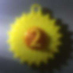 Free STL file Sunflower, koukwst